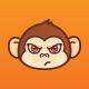 Cute Monkey Emoticon - GraphicRiver Item for Sale