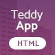 TeddyApp | Responsive App Landing Page - ThemeForest Item for Sale