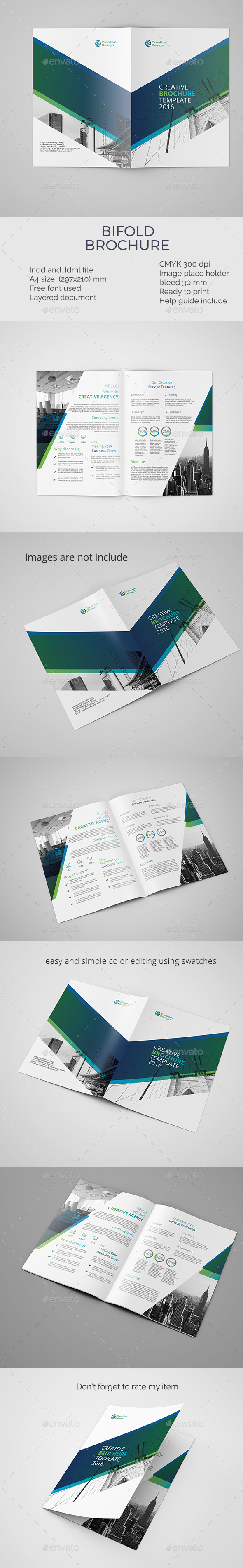 corporate bifold brochure template - Corporate Brochures