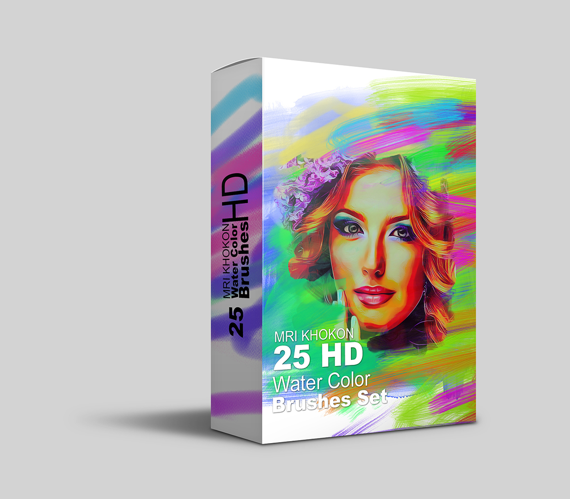 HD Water Color Brush Sets