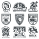 Set of Vector Badges Space - GraphicRiver Item for Sale