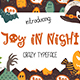 Joy in Night - Halloween Typeface - GraphicRiver Item for Sale