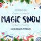Magic Snow - Christmas Typefase - GraphicRiver Item for Sale