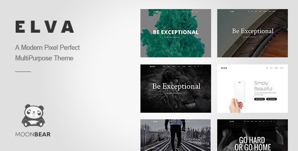 ELVA – Responsive Multi-Purpose WordPress Theme