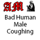 Human Male Cough