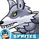 Wolves 2D Game Character Sprites 288 - GraphicRiver Item for Sale