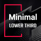Minimal Lower Third - VideoHive Item for Sale