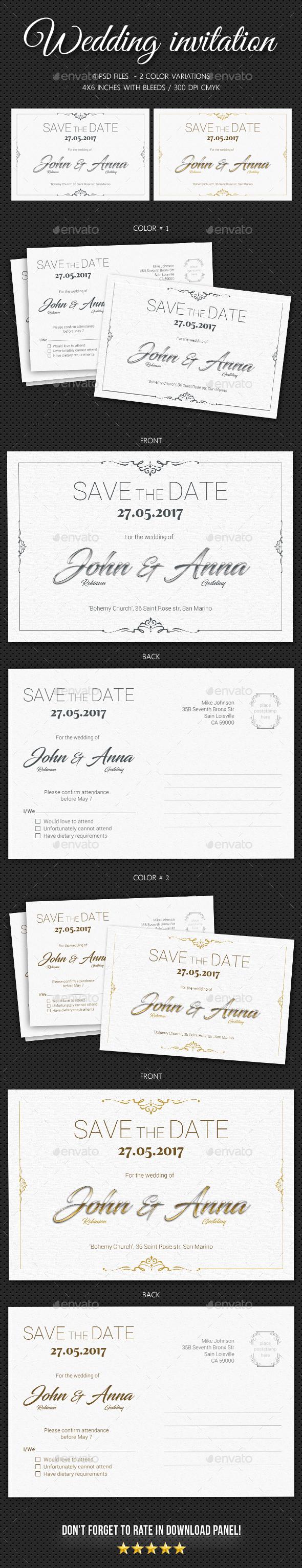 Wedding Invitation V8