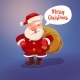 Santa Claus Character and Sack - GraphicRiver Item for Sale