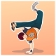 Dancing Kid - GraphicRiver Item for Sale