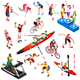Sport Isometric Sportsmen Set Olympic Game Vector Illustration - GraphicRiver Item for Sale