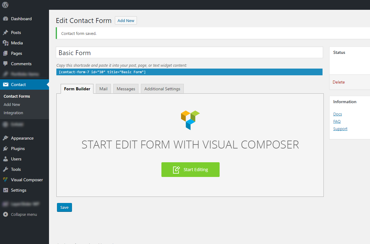 Moana - Contact Form Seven CF7 Builder use Visual Composer by ...