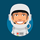 Astronaut Mascot Pack - GraphicRiver Item for Sale