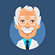 Old Professor Mascot Pack - GraphicRiver Item for Sale