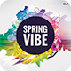 Spring Vibe CD Cover Artwork - GraphicRiver Item for Sale