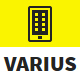Varius - Mobile and Tablet Creative Template Nulled
