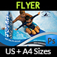 Surf Training Flyer Template - GraphicRiver Item for Sale
