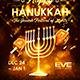 Happy Hanukkah Poster - GraphicRiver Item for Sale
