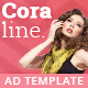 Coraline - Fashion HTML5 Ad Template - CodeCanyon Item for Sale