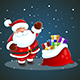 Santa Claus Christmas Background - GraphicRiver Item for Sale