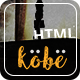 Kobe - One Page HTML Template - ThemeForest Item for Sale