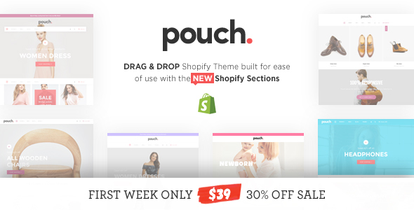 Pouch – Responsive Drag and Drop Shopify Theme