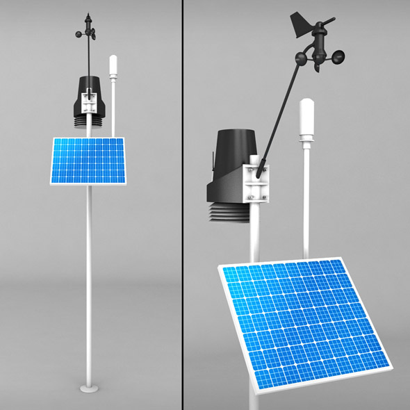Weather meteo station 2 - 3DOcean Item for Sale