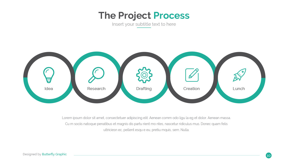 business idea powerpoint templatebutterfly_graphic | graphicriver, Idea Presentation Template, Presentation templates