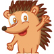 Hedgehog Cartoon - GraphicRiver Item for Sale