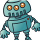 Robot Cartoon - GraphicRiver Item for Sale