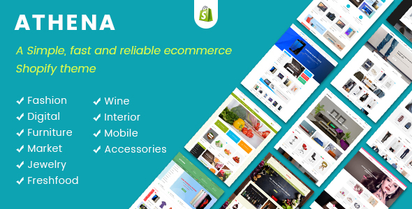 JMS Athena - Ultimate Multipurpose Responsive Shopify Theme