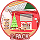 Cozy Xmas Room Transition - 2 Pack - VideoHive Item for Sale