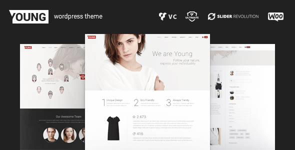 Young – WordPress Fashion Portfolio Theme