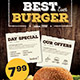 Fast Food Restaurant Menu - GraphicRiver Item for Sale
