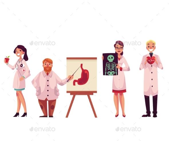 Doctors - Health/Medicine Conceptual