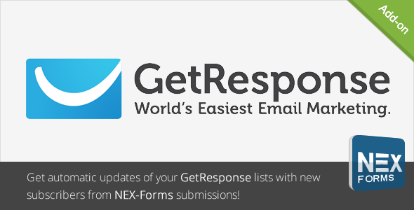 GetResponse for NEX-Forms - CodeCanyon Item for Sale