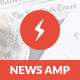 AMP News Mobile | Mobile Google AMP Template Nulled