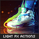 Burst of Light Photoshop Actions - Photorealistic Glow Effects - GraphicRiver Item for Sale