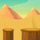 Desert Game Background - GraphicRiver Item for Sale