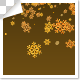 Golden Snowflakes Falling - VideoHive Item for Sale