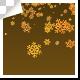 Golden Snowflakes Falling
