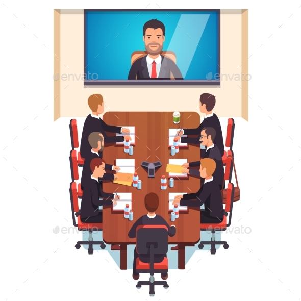 Corporation Directors Board - Concepts Business