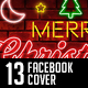 Merry Christmas Facebook Co-Graphicriver中文最全的素材分享平台