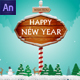 Happy New year Card - CodeCanyon Item for Sale