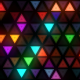 Colorful Flashing Triangles LED Wall - VideoHive Item for Sale