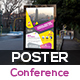 Event Summit Conference Poster Template