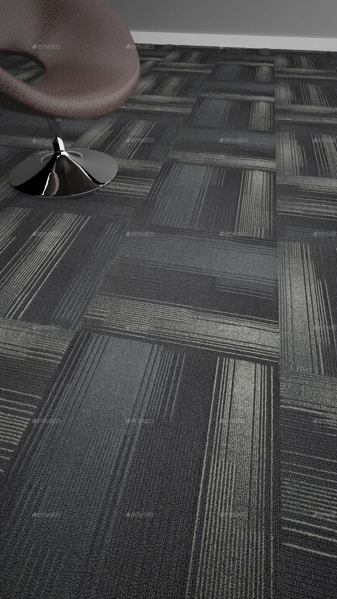 Modern Carpet -Criss Cross