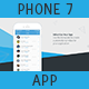 Flat Phone 7 Application Animated Presentation - VideoHive Item for Sale