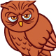 Owl Cartoon - GraphicRiver Item for Sale