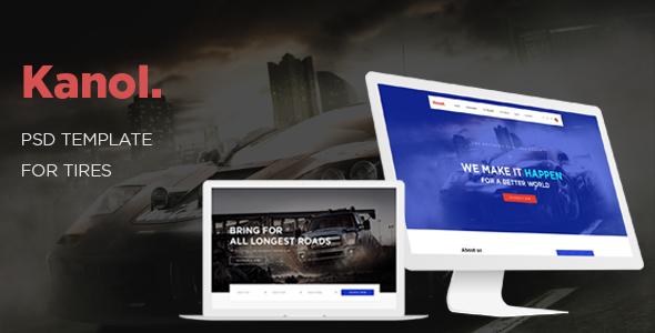 Ap Kanol - eCommerce PSD Template - Retail PSD Templates